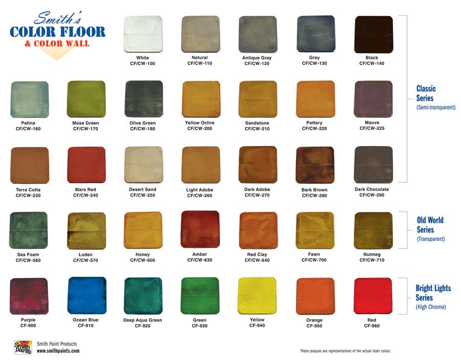 Smith Floor Colors